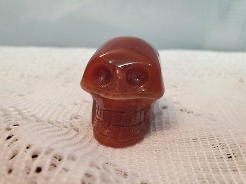 Carnelian Skull