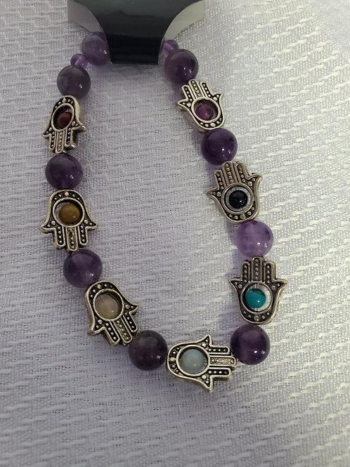 Purple Chakra Bracelet