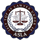 2019 Top 40 Lawyer Under 40 Logo