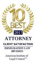 10 Best Attorney Award