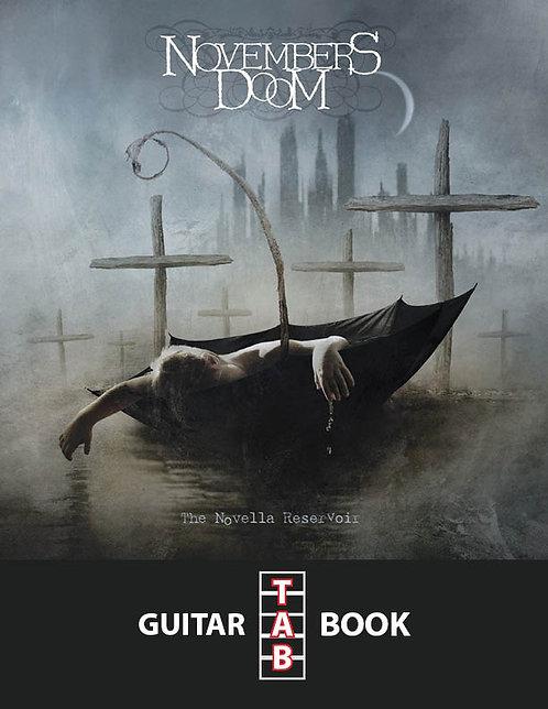 Novembers Doom - The Novella Reservoir Guitar Tab Book
