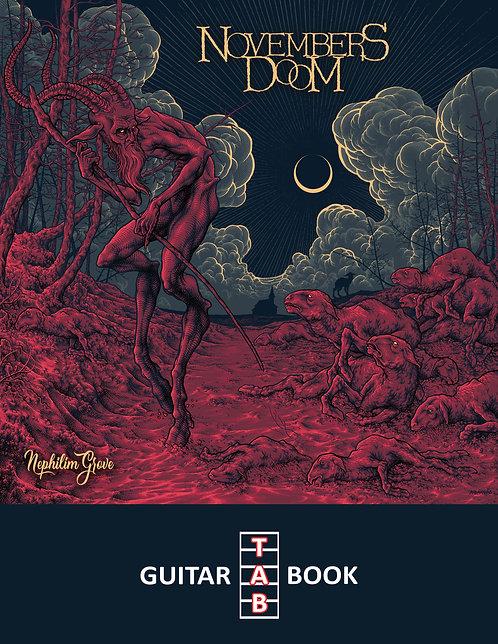 Novembers Doom - Nephilim Grove Guitar Tab Book