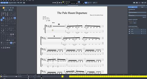Novembers Doom - The Pale Haunt Departure Digital Bass Tab Book