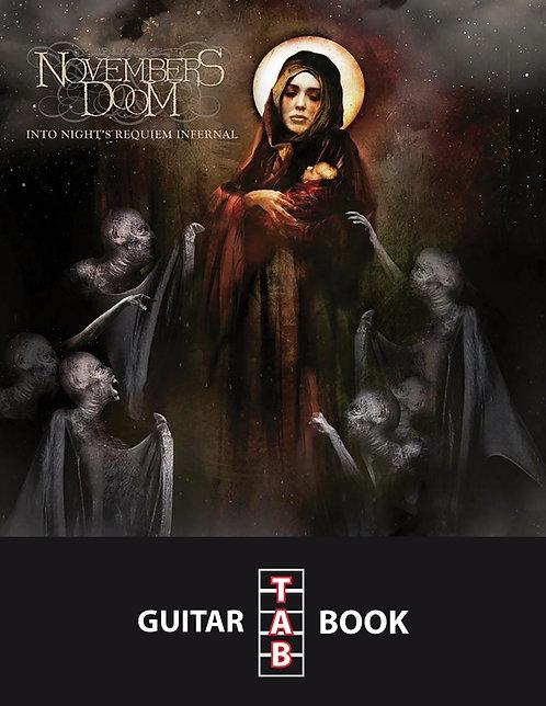 Novembers Doom - Into Night's Requiem Infernal Guitar Tab Book