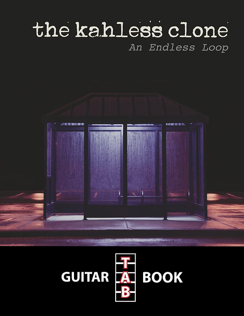 The Kahless Clone - An Endless Loop Guitar Tab Book