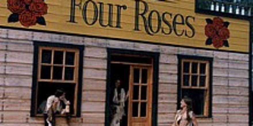 Řízená degustace vín v saloonu FOUR ROSES