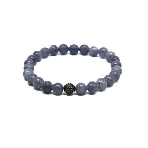 Gleam Aquamarine Zirconia Oxide Bracelet