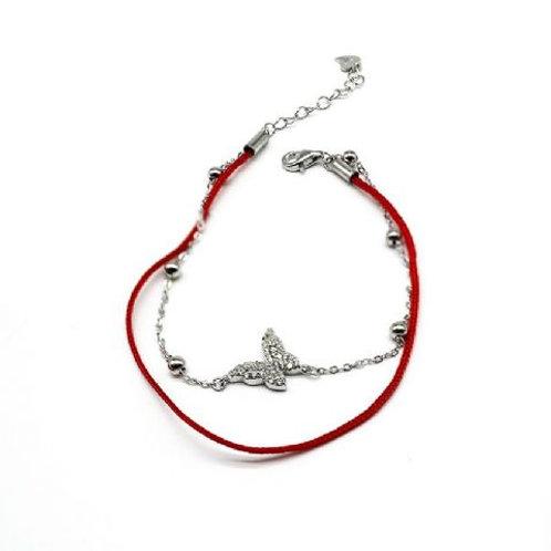 Gleam Red Lap Manu Bracelet