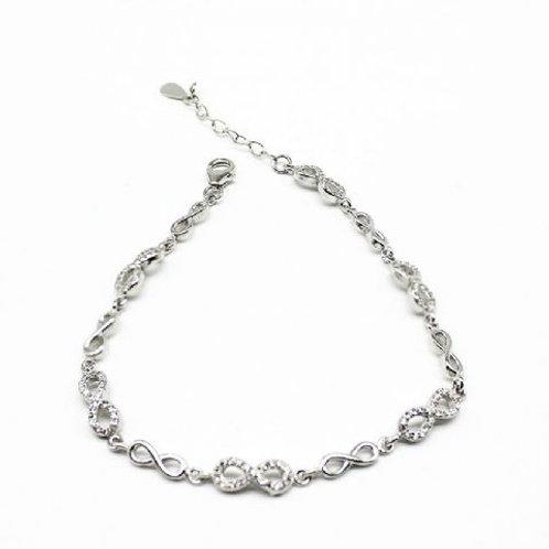 Gleam Infinity Bracelet