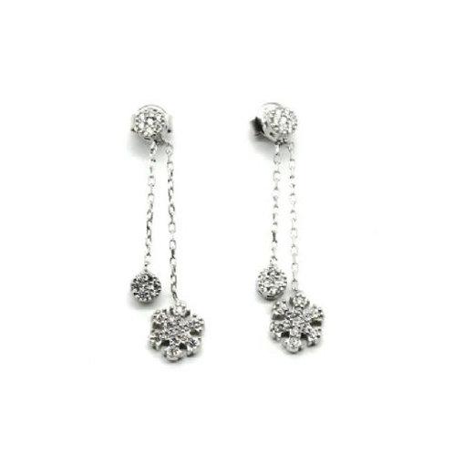 Gleam Lotstone Snowflake Earring