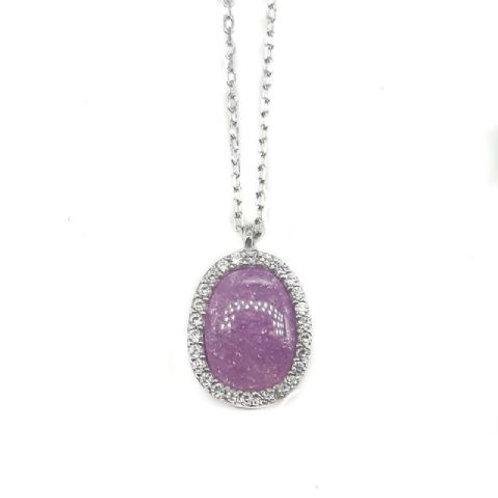 Purple Medaleon Quartz
