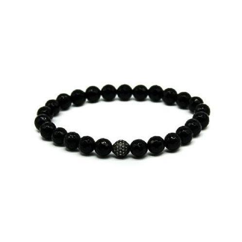 Gleam Onyx Zirconia Oxide Bracelet