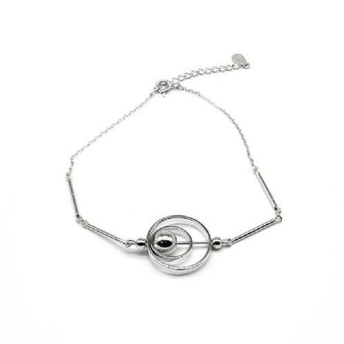 Gleam Balwinder Silver Bracelet
