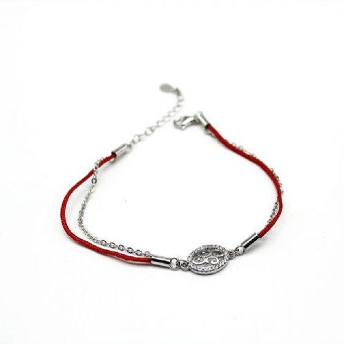 Gleam Red Lap Sundara Bracelet