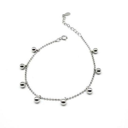 Gleam Quim Silver Bracelet