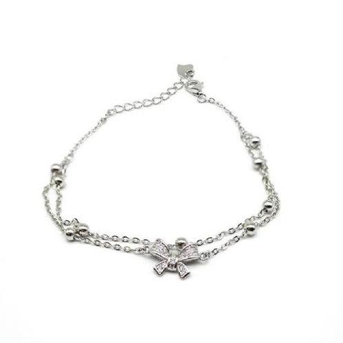 Gleam Silver Ribbon