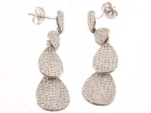 Gleam Lotstone Threedrop Earring