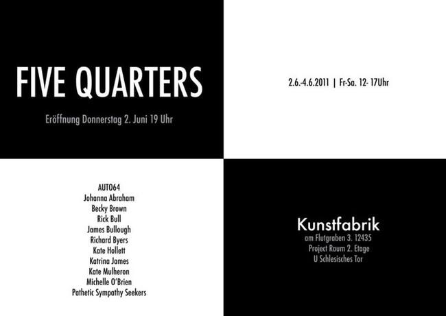 FIVE QUARTERS, Berlin, Germany