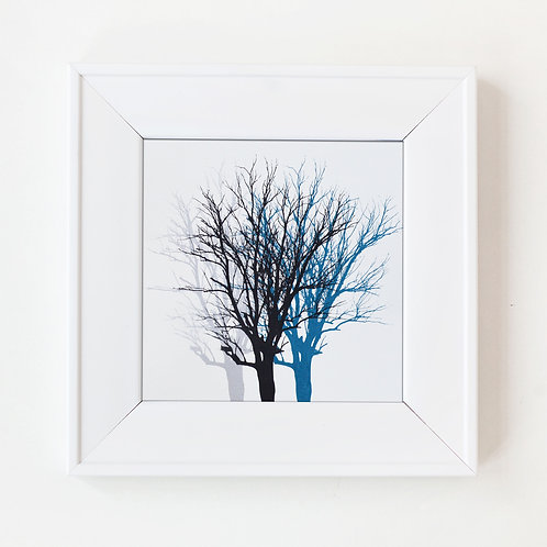 Forest View (silver, black, blue)