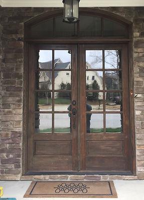 Apex Door Before Refinishing