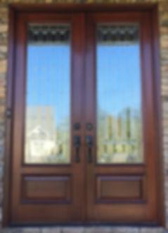 Beautiful Raleigh Door After Refinishing