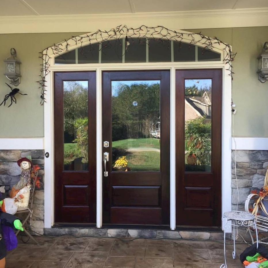 Refinished Door with Hardware- Creedmoor
