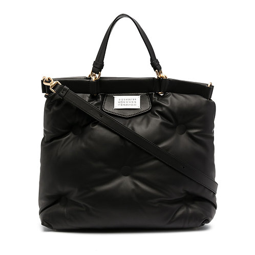 MAISON MARGIELA. Glam Slam Number Patch Tote Bag