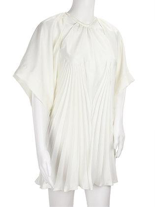 MAISON MARGIELA. Plissé blouse.