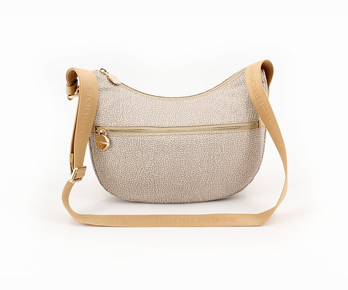 BORBONESE. Small Luna Bag.