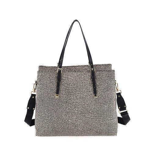 BORBONESE. Shopping Bag Large OP Nylon