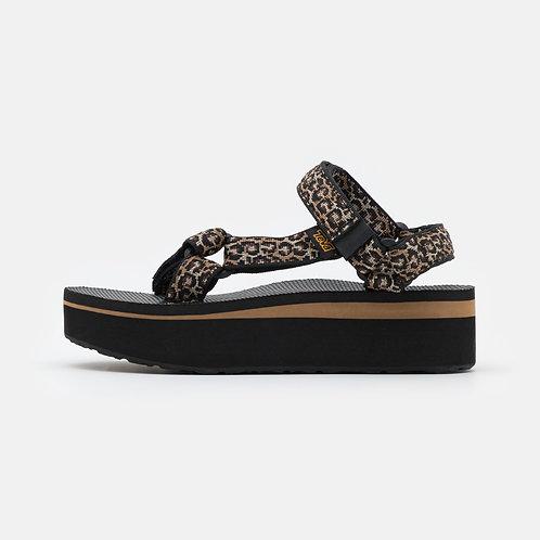 TEVA. Flatform Universal Sandals Leopard