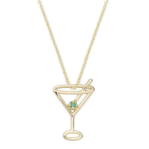 ALIITA. Martini Esmeralda Necklace