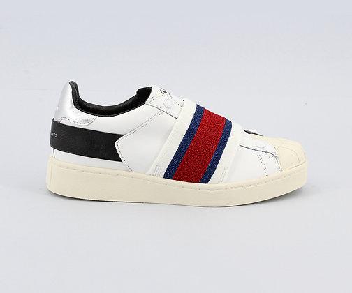 MOA. White Breaker Sneakers.