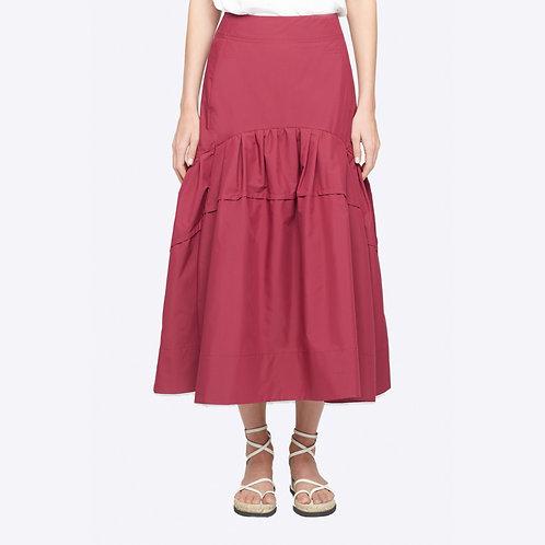 PHILLIP LIM WOMENSWEAR. Shirred Midi Skirt