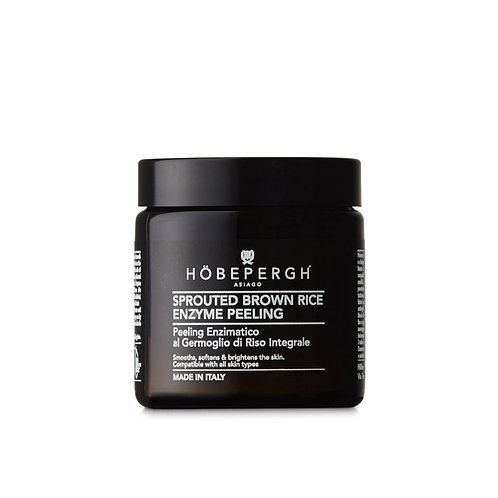 HÖBEPERGH. Sprouted Brown Rice Gentle Enzyme Peel