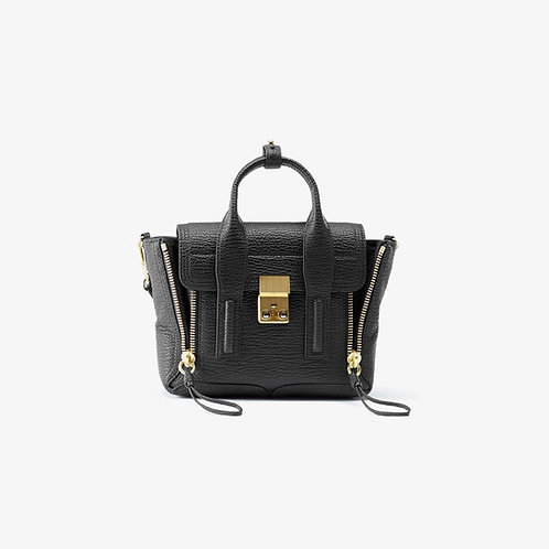 PHILLIP LIM. Pashli Mini Satchel Gold.