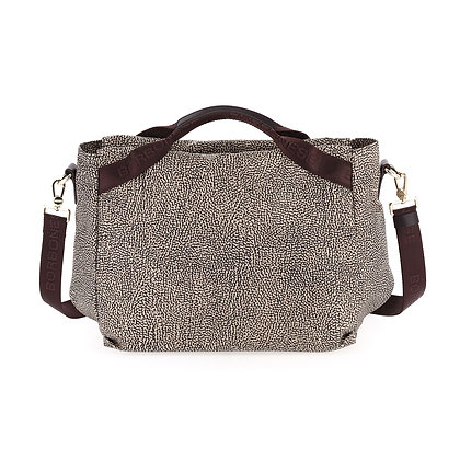 BORBONESE. Medium Handbag.