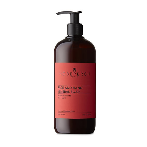 HÖBEPERGH. Face and hand mineral soap.