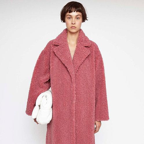 STAND STUDIO. Maria Coat Berry Pink