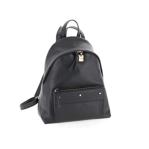 BORBONESE. Out Of Office Medium. Leather backpack.