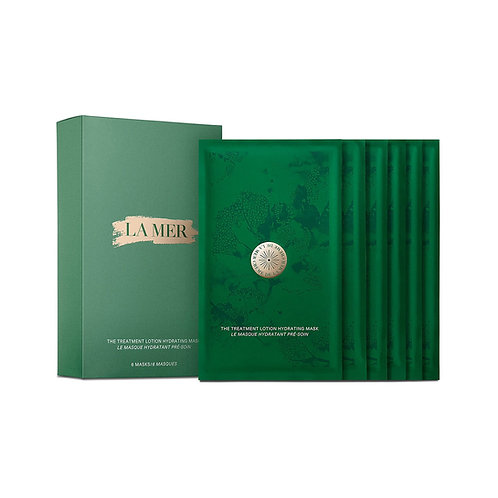 LA MER. The Treatment Lotion Hydrating Mask / 6 Hydrating Masks