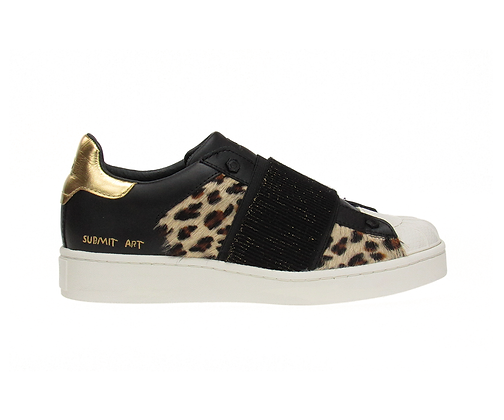 MOA. M613 S. Newman leather leopard pony.