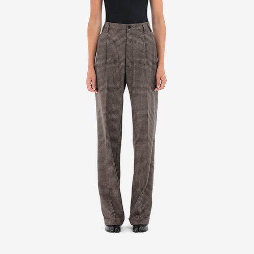 MAISON MARGIELA. Pleated Wool Trousers