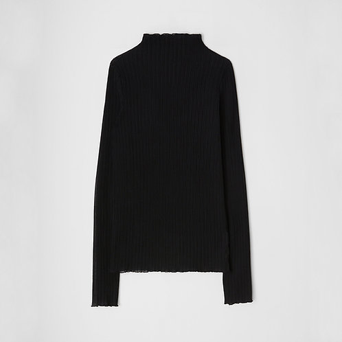 JIL SANDER. Ribbed jersey top