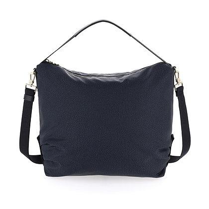 BORBONESE. Large Hobo Bag.