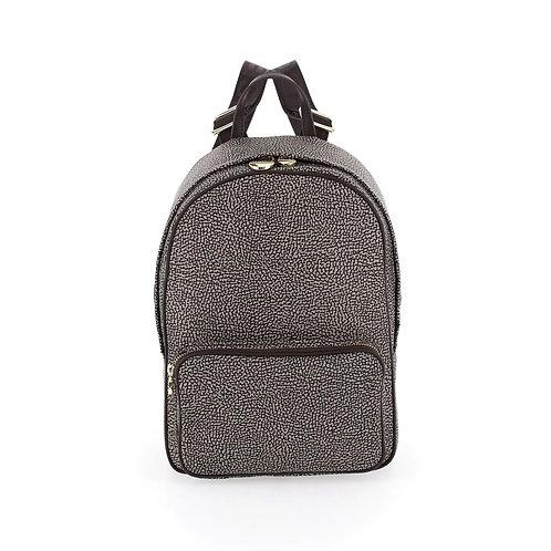 BORBONESE. Portrait Medium. Sustainable Selection. Recycled Nylon Backpack