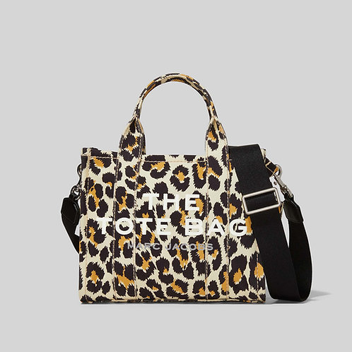 MARC JACOBS. The Leopard MINI Traveler Tote Bag