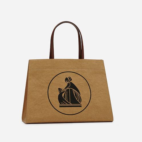 LANVIN. Kraft Tote Bag