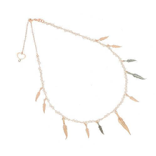 MAMAN ET SOPHIE PIUME. Feathers Necklace
