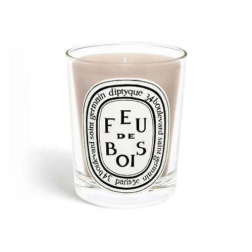 DIPTYQUE. Feu de Bois / Wood Fire Candle 190 gr.